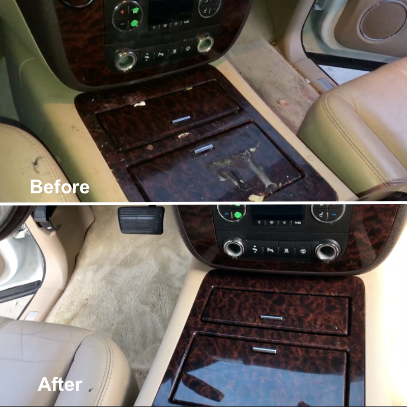 Interior Car Detailing Package: Attention To Details Mobile