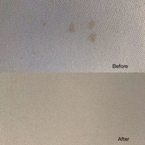 Headliner Stain Removal