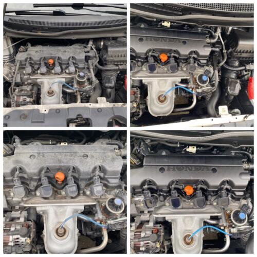 Engine Bay Cleaning Before and After