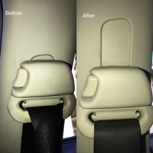 Seat belt Steam Cleaning